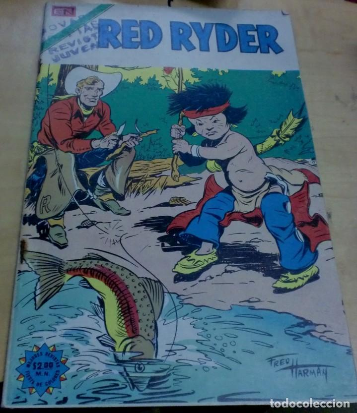 RED RYDER Nº 328 17 DE ABRIL 1974 (Tebeos y Comics - Novaro - Red Ryder)