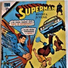 Tebeos: SUPERMAN - SERIE AGUILA - AÑO XV - EDITORIAL NOVARO - TAPA BLANDA . Lote 195280077