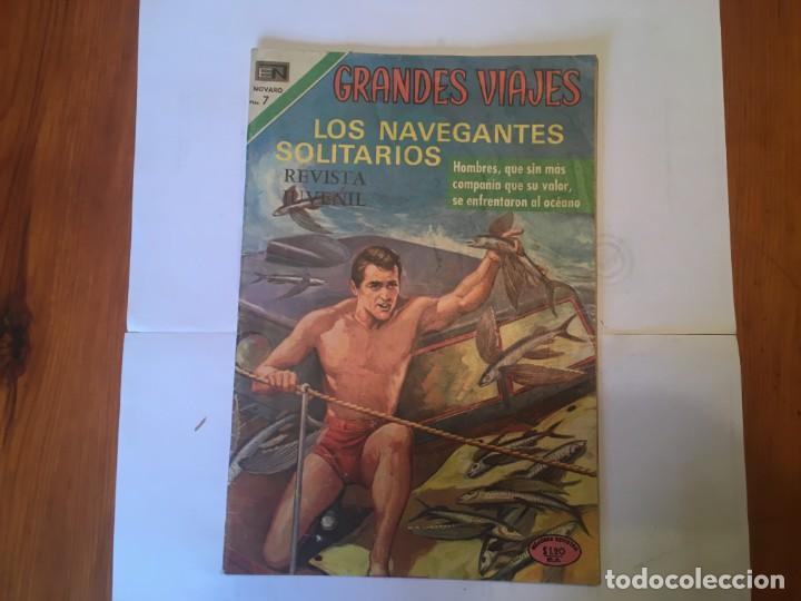 COMIC GRANDES VIAJES , REVISTA JUVENIL, Nº 96 AÑO 1971 (Tebeos y Comics - Novaro - Grandes Viajes)