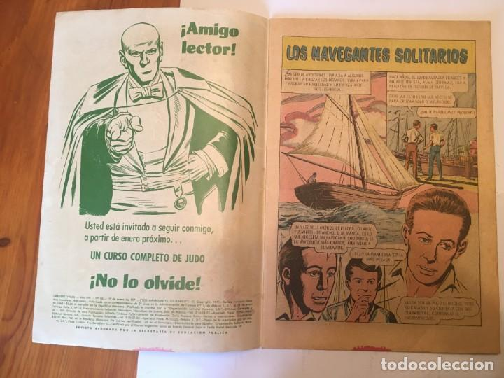 Tebeos: comic grandes viajes , revista juvenil, nº 96 año 1971 - Foto 3 - 195358587