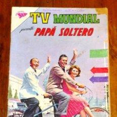 Tebeos: TV MUNDIAL. AÑO I ; Nº 11 ; 1º DE JULIO DE 1963 : PAPÁ SOLTERO. Lote 195380630