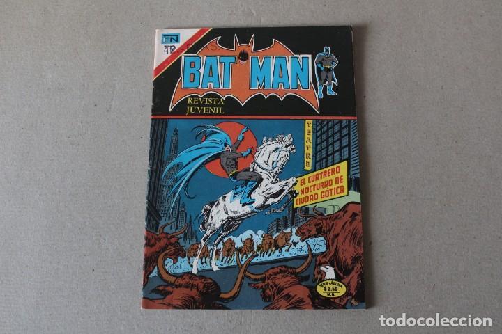 EDITORIAL NOVARO, SERIE AGUILA - Nº 815 BATMAN EL HOMBRE MURCIELAGO - AÑO 1976 (Tebeos y Comics - Novaro - Batman)