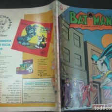Tebeos: BATMAN NUMERO EXTRAORDINARIO 1 DE AGOSTO DE 1965. NOVARO. MUY DIFICIL.. Lote 195538293