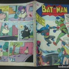 Tebeos: BATMAN Nº 65. 1 JUNIO 1959 NOVARO. . Lote 195540950