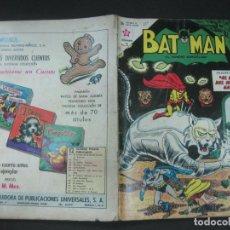 Tebeos: BATMAN Nº 185. 26 SEPTIEMBRE 1963 NOVARO. . Lote 195541425