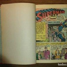 Tebeos: SUPERMAN. 7 LIBRO COMIC ENCUADERNADOS EN UN TOMO. ED. NOVARO. AÑOS 70.. Lote 195673143