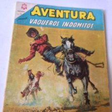 Tebeos: AVENTURA - VAQUEROS INDÓMITOS - NUM. 378 - 1965. Lote 195689472