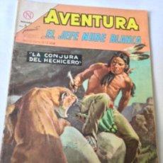 Tebeos: AVENTURA - EL JEFE NUBE BLANCA- NUM. 334- 1964. Lote 195689585