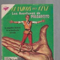 Tebeos: TEBEO. CLASICOS DEL CINE. LAS AVENTURAS DE PULGARCITO. Nº 30. REVISTA SEA. Lote 195721113
