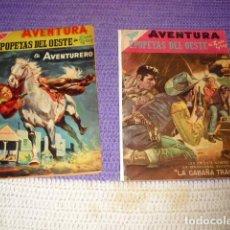 Tebeos: NOVARO AVENTURA NºS 89 Y 47. Lote 195769985