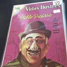 Tebeos: NOVARO VIDAS ILUSTRES PABLO PICASSO NUMERO 194 BUEN ESTADO. Lote 195804053