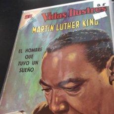 Tebeos: NOVARO VIDAS ILUSTRESESPECIAL MARTIN LUTHER KING BUEN ESTADO. Lote 195804185