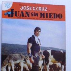 Tebeos: JUAN SIN MIEDO - LOTE DE 10 REVISTAS CÓMICS - EDIC. JOSE G.CRUZ, MEXICO - ORIGINALES EN FÍSICO. Lote 195920645