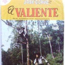 Tebeos: EL VALIENTE - LOTE DE 10 REVISTAS COMICS - EDIC. JOSE G.CRUZ, MEXICO - ORIGINALES EN FÍSICO. Lote 195920751