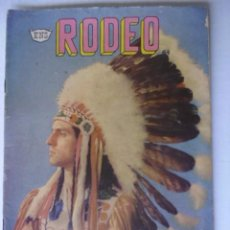 Tebeos: RODEO - LOTE DE 7 CÓMICS - EDITORIAL LA PRENSA MEXICO - AÑOS 50 Y 60 -ORIGINALES EN FÍSICO. Lote 195920801