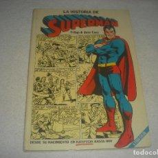 Tebeos: LA HISTORIA DE SUPERMAN. PROLOGO DE JAVIER COMA . 1979. Lote 195931922