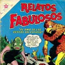 Tebeos: RELATOS FABULOSOS-28 (NOVARO, 1961). Lote 195959673