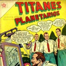 Tebeos: TITANES PLANETARIOS-60 (NOVARO, 1958). Lote 195961661