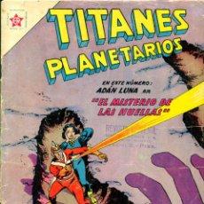Tebeos: TITANES PLANETARIOS-104 (NOVARO, 1961). Lote 195961822