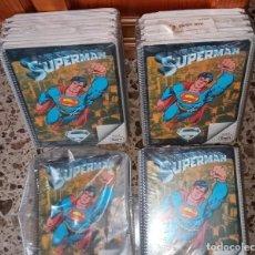 Tebeos: ANTIGUA LIBRETA ANTIGUO CUADERNO SUPERMAN DC COMICS 1979 BLOCK SAM LOTE 30 PRECINTADAS NUEVAS RARO. Lote 196243898