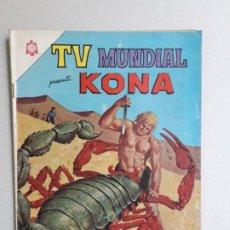 Tebeos: KONA - TV MUNDIAL N° 52 - ORIGINAL EDITORIAL NOVARO. Lote 196248328
