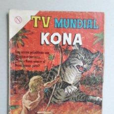 Tebeos: KONA - TV MUNDIAL N° 24 - ORIGINAL EDITORIAL NOVARO. Lote 196248431