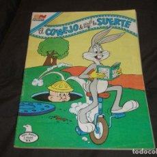 Tebeos: EL CONEJO DE LA SUERTE 2-692 SERIE AGUILA NOVARO. Lote 196394501