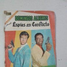 Tebeos: OPORTUNIDAD COMIC EN REGULAR ESTADO - DOMINGOS ALEGRES N° 783 - ESPÍAS EN CONFLICTO - NOVARO. Lote 196603762
