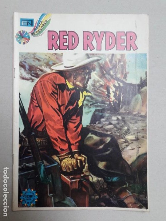 Tebeos: Red Ryder n° 324 - original editorial Novaro - Foto 1 - 196606991