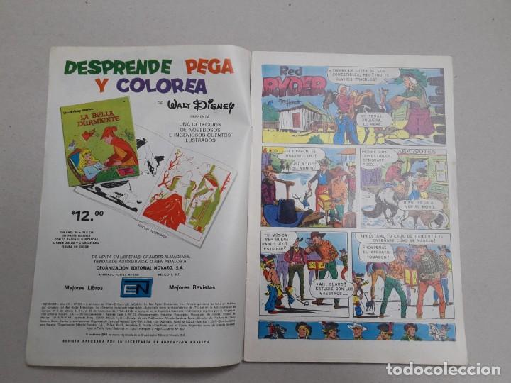Tebeos: Red Ryder n° 325 - original editorial Novaro - Foto 2 - 196607097