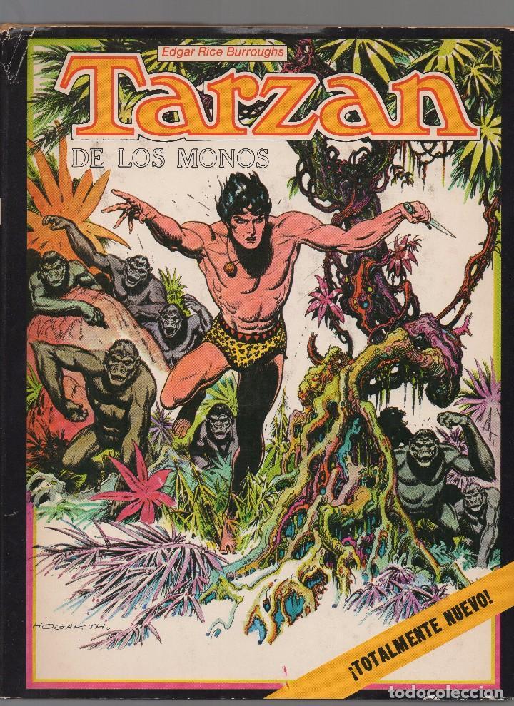 TARZAN POR BURNE HOGARTH DE EDITORIAL NOVARO (Tebeos y Comics - Novaro - Tarzán)