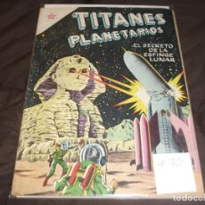 Tebeos: TITANES PLANETARIOS Nº 70 EDICIONES RECREATIVAS EDITORIAL NOVARO.. Lote 196671447