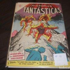 Tebeos: HISTORIAS FANTASTICAS # 16 EDITORIAL EDICIONES RECREATIVAS NOVARO. Lote 196671705
