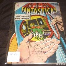 Tebeos: HISTORIAS FANTASTICAS # 19 EDITORIAL EDICIONES RECREATIVAS NOVARO. Lote 196671726