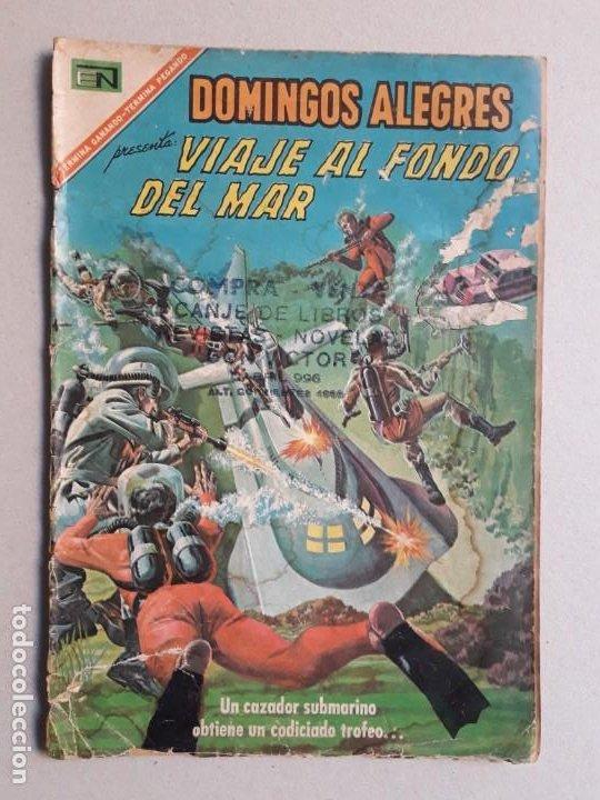 VIAJE AL FONDO DEL MAR! - DOMINGOS ALEGRES N° 701 - ORIGINAL EDITORIAL NOVARO (Tebeos y Comics - Novaro - Domingos Alegres)