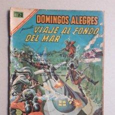 Tebeos: VIAJE AL FONDO DEL MAR! - DOMINGOS ALEGRES N° 701 - ORIGINAL EDITORIAL NOVARO. Lote 196955106