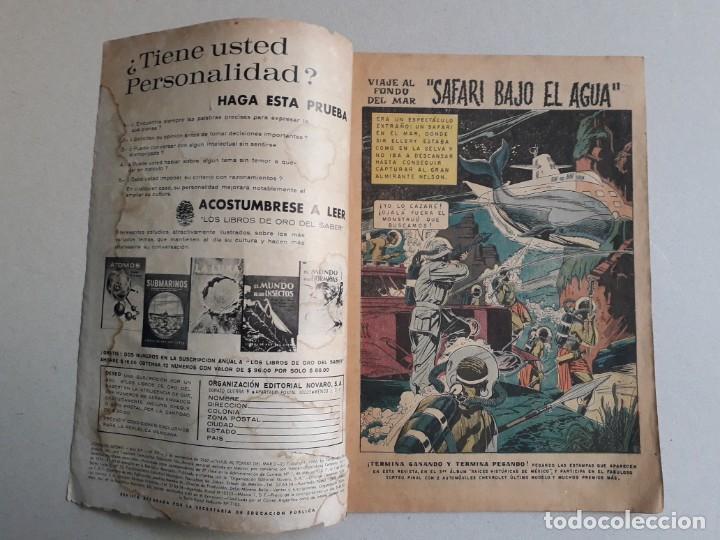 Tebeos: Viaje al fondo del mar! - Domingos alegres n° 701 - original editorial Novaro - Foto 2 - 196955106