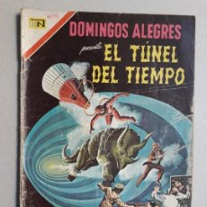 Tebeos: EL TÚNEL DEL TIEMPO - DOMINGOS ALEGRES N° 705 - ORIGINAL EDITORIAL NOVARO. Lote 196955232