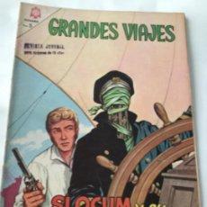 Tebeos: GRANDES VIAJES- SLOCUM Y SU CASCARA DE NUEZ- NUM.30- 1965. Lote 196956196