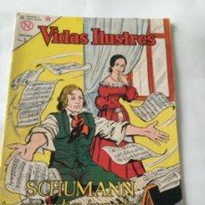 Tebeos: VIDAS ILUSTRES- SCUMANN ROMANTICO INMORTAL- NUM.96- 1964. Lote 196956986