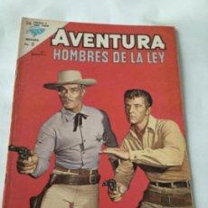 Tebeos: AVENTURA- HOMBRES DE LA LEY- NUM.293- 1963. Lote 196959248
