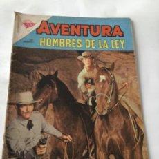 Tebeos: AVENTURA- HOMBRES DE LA LEY- NUM.258- 1962. Lote 196959440