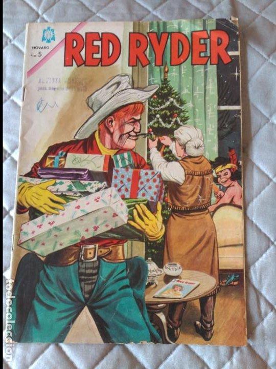 RED RYDER Nº 122 (Tebeos y Comics - Novaro - Red Ryder)
