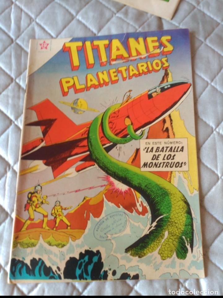 TITANES PLANETARIOS Nº 84 NOVARO (Tebeos y Comics - Novaro - Sci-Fi)