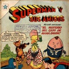 Livros de Banda Desenhada: SUPERMAN Y SUS AMIGOS-16 (1957) CON DOS PEQUEÑOS ROTOS EN LA PORTADA. Lote 197092660