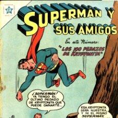 Livros de Banda Desenhada: SUPERMAN Y SUS AMIGOS-3 (NOVARO, 1956) SEÑALES DE USO. Lote 197093076