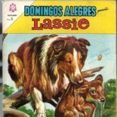 Tebeos: DOMINGOS ALEGRES PRESENTA LASSIE - Nº 535 - JUNIO 1964 - NOVARO - CORRECTO. Lote 197166950