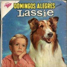 Tebeos: DOMINGOS ALEGRES PRESENTA LASSIE - Nº 370 - ABRIL 1961 - NOVARO SEA - CORRECTO -UNICO EN TC. Lote 197167162
