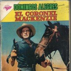 Tebeos: DOMINGOS ALEGRES - EL CORONEL MACKENZIE - Nº 387 - AGOSTO 1961 - NOVARO SEA - CORRECTO - UNICO EN TC. Lote 197167487