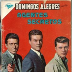 Tebeos: DOMINGOS ALEGRES - AGENTES SECRETOS - Nº 447 - OCTUBRE 1962 - NOVARO SEA - CORRECTO - UNICO EN TC. Lote 197167923